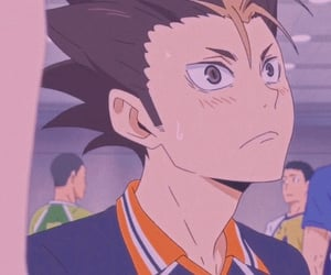 anime, haikyuu, and nishinoya yuu image