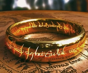lord of the rings, ring, and LOTR image
