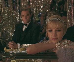 the great gatsby, leonardo dicaprio, and Carey Mulligan image
