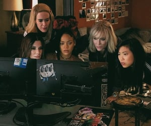 cate blanchet, rihanna, and ocean's 8 image