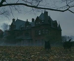 house, movie, and suspense image
