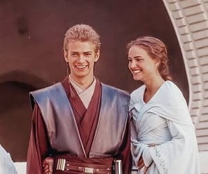 hayden christiansen, natalie portman, and star wars image