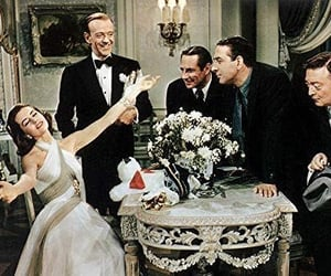 movie, old hollywood, and silk stockings image