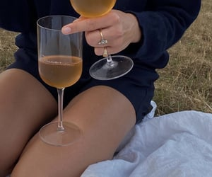 drinks, picnic, and summer image