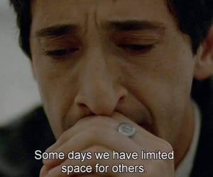 space, adrien brody, and melancholy image