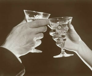 bw, cheers, and touch glasses image