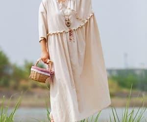 etsy, summer maxi dress, and oversized dress image