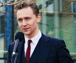 tom hiddleston, actor, and Marvel image