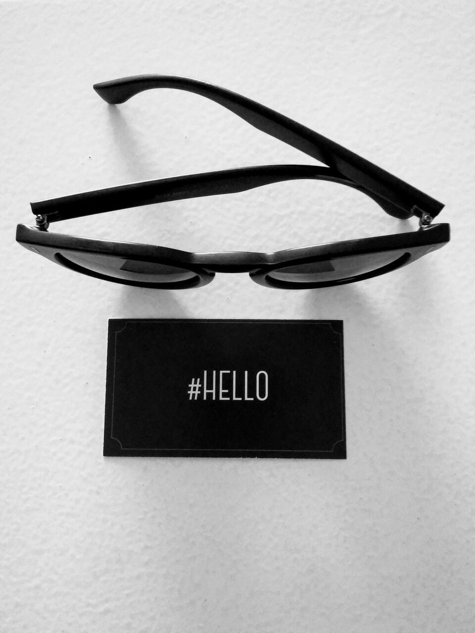 hello, losangeles, and sunglasses image