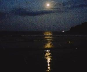 beach, black, and facebook image