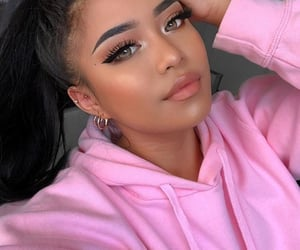 confident, highlight, and hoodie image