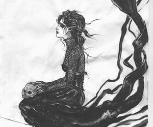 banshee, celtic, and mythology image