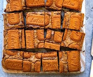 Biscoff brownies