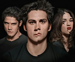 tw, scott mccall, and tyler posey image