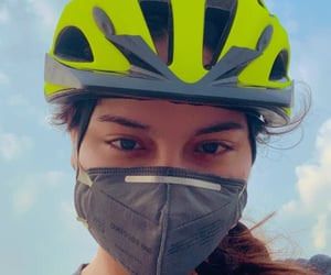 clouds, cycling, and mask image