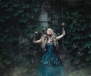 fantasy, blonde, and forest image