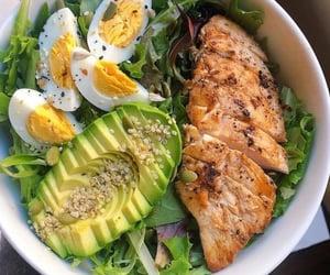 avocado, fitness, and food image