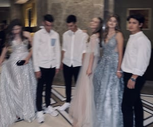 Prom, prom night, and friends image