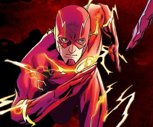 comics, DC, and wally west image
