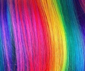 color, dye, and hair image