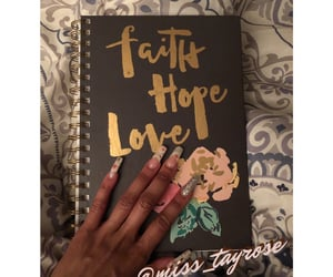faith, hope, and journal image