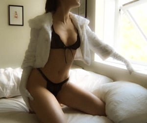 art, lingerie, and girl image