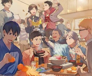 anime, haikyu, and fanart image
