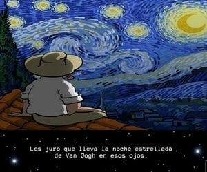amor, estrellas, and mirada image