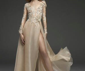 gold beige and dress evening beautiful image