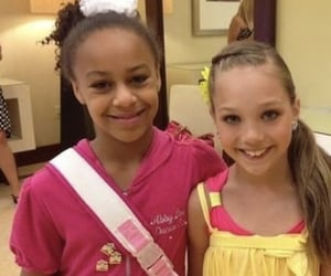 dance moms, maddie ziegler, and nia soux image