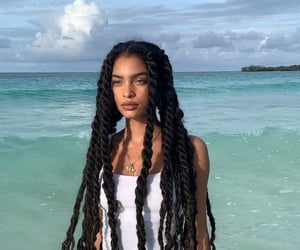 beach, sea, and tropical image