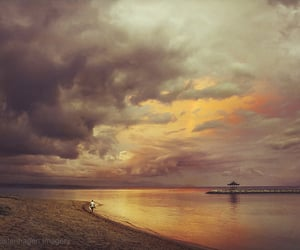 atmosphere, bali, and beach image