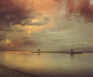 bali, serenity, and sunset image