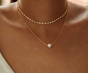 jewelry, necklace, and beautiful image