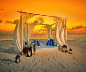 ocean, summer, and Maldives image