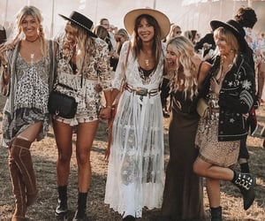 aesthetic, coachella, and fashion image