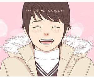 anime, couple, and romance image