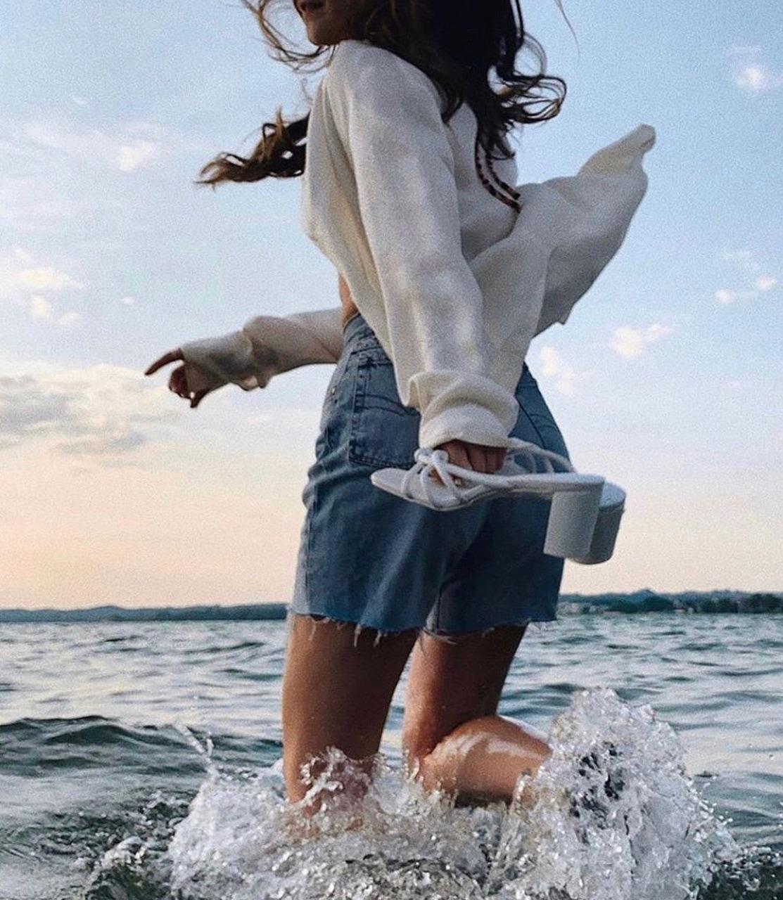 beach, wild, and fashion image