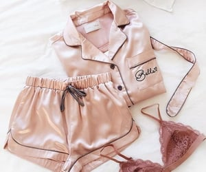 pink, girls, and pijama image