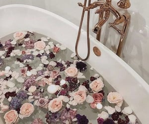 bath, baths, and water image