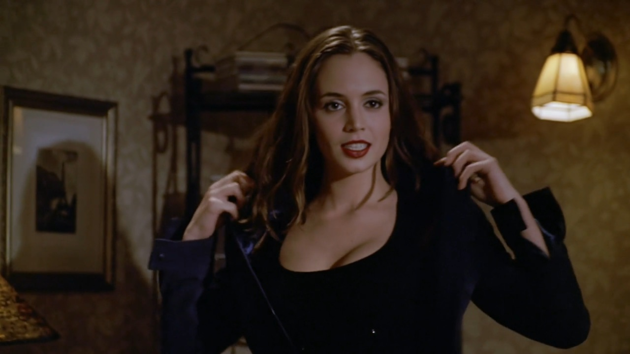 eliza dushku as faith lehane in 'buffy the vampire slayer.'