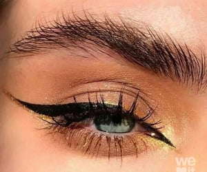 eyeliner, makeup, and beauty image