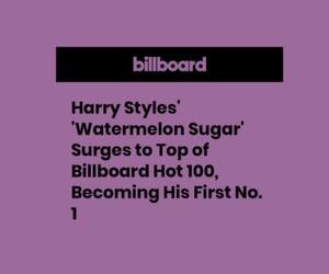 Harry Styles, purple header, and fine line image