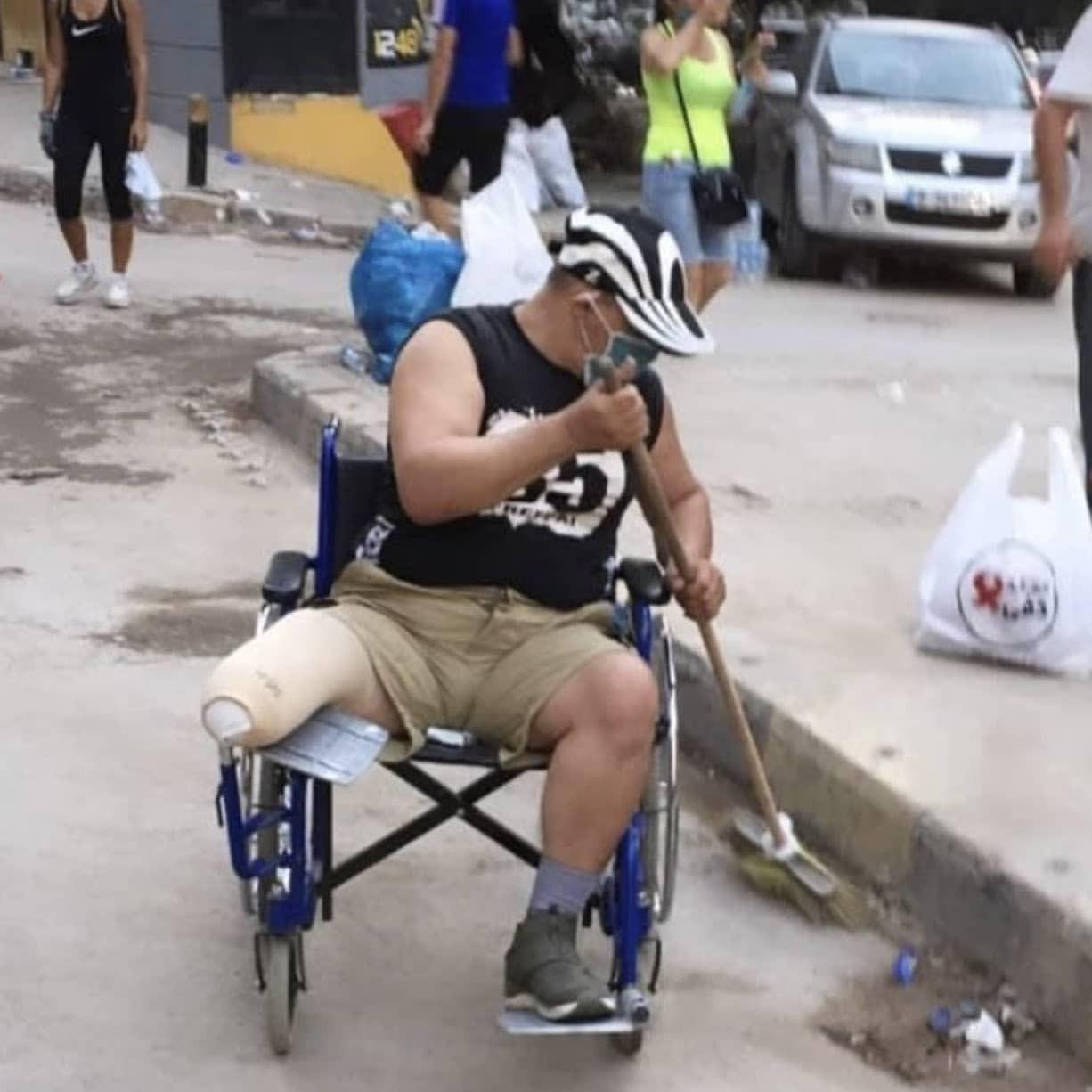 Beirut, donate, and broken image