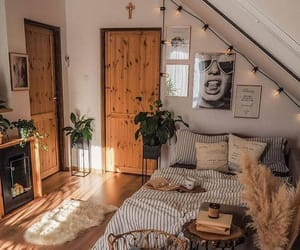 bedroom, beautiful, and interior image