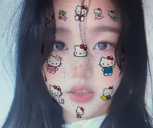 filter, girls, and hello kitty image