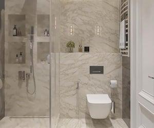 bathroom, home, and interior decoration image