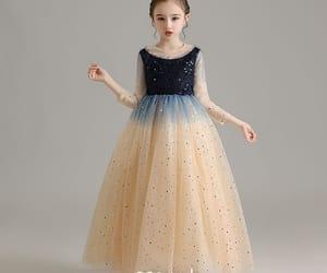 birthday dress, tulle dress, and little girl dress image