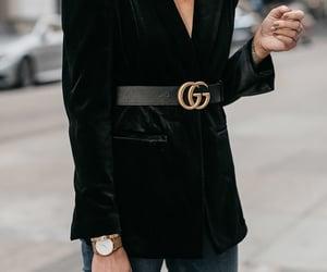 belt, blazer, and fashionable image