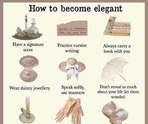 elegance, tips, and word image